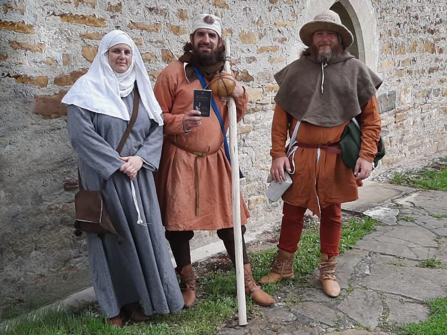 Pilger im Mittelalter: 13. Jahrhundert
